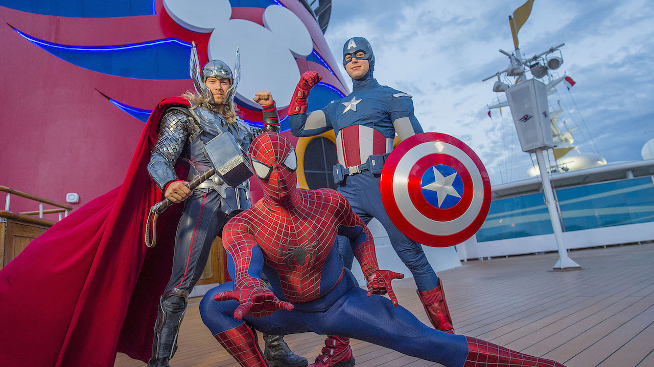 Cruceros Disney, Marvel Day at Sea
