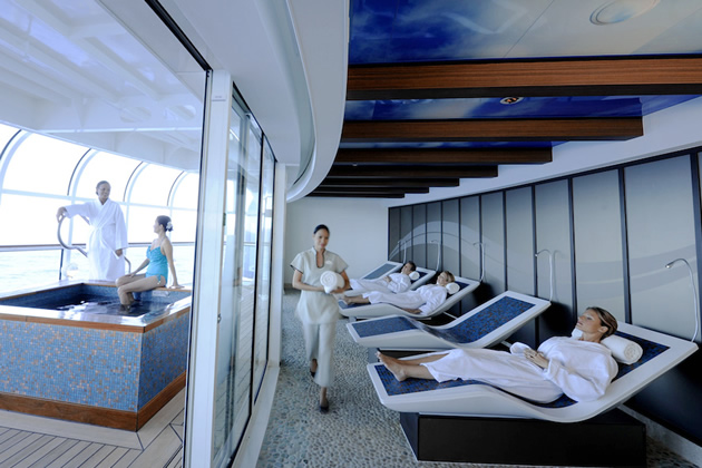 Disney Cruise, Sense Spa & Salon