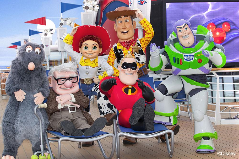 Fiesta con amigos Pixar