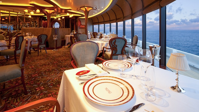 Disney Dream Remy Restaurante